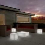 Blok Lumineux Table D'appoint ou Banc (DEL 16 couleurs)